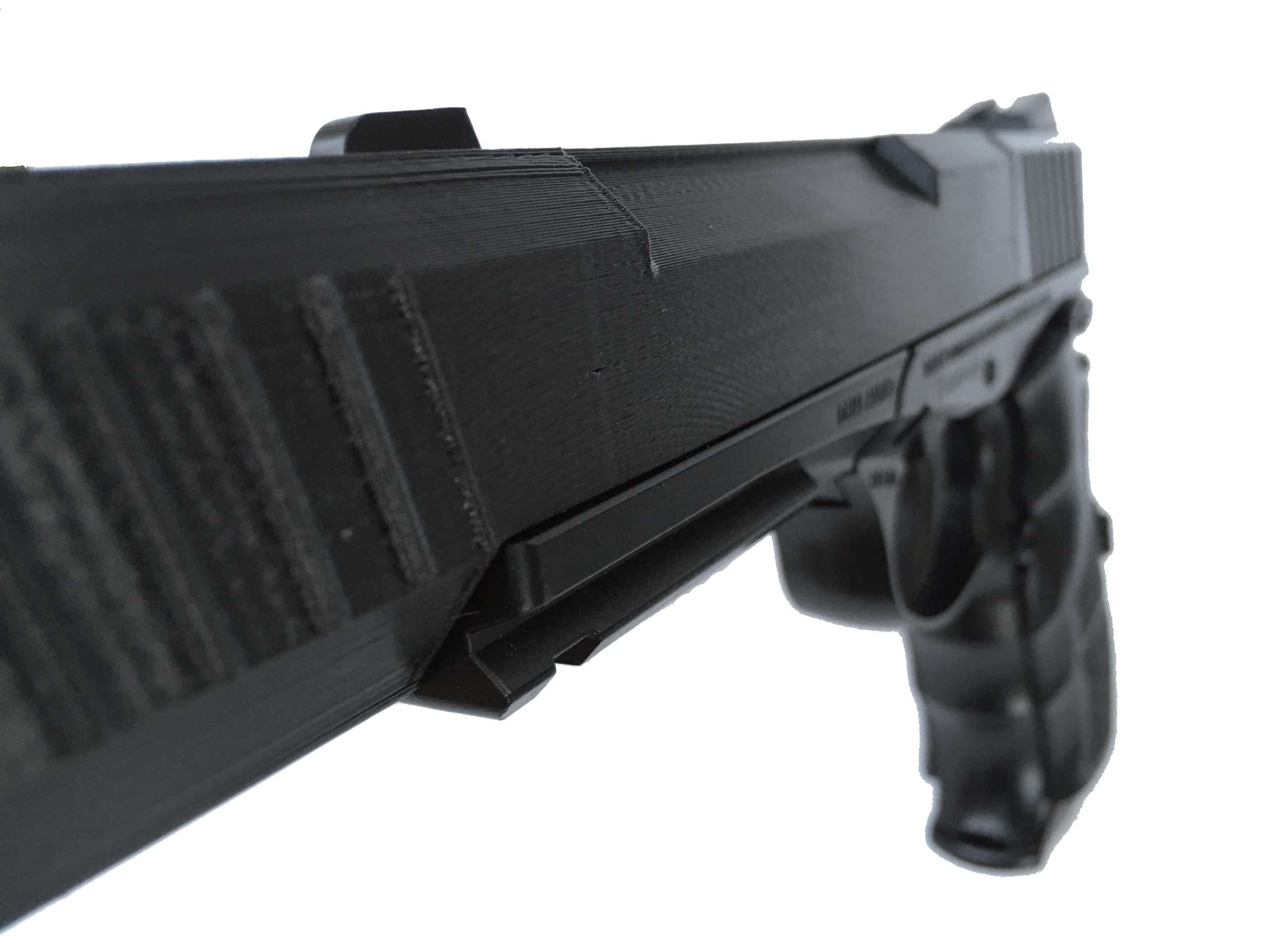 Daisy Powerline 408 Silencer with Dovetail Scope Mount